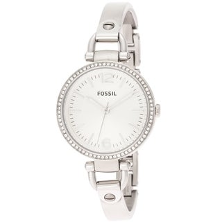 Fossil Women's ES3225 'Georgia' Crystal Accent Watch