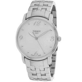 Tissot Women's T0522101111700 White Mother of Pearl Watch