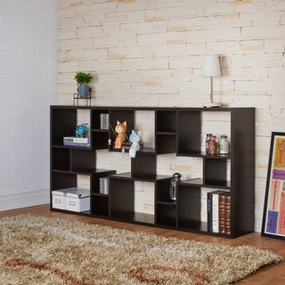 Furniture of America Austin Unique Contouring Bookcase / Display Stand