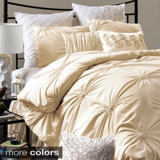Lush Decor Bianca Polyester 4-piece Comforter Set