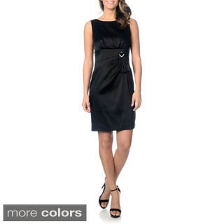 Tahari Arthur S. Levine Women's Jewel Embellished Sheath Dress