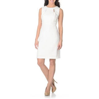 Tahari Arthur S. Levine Women's Novelty Texture Sheath Dress