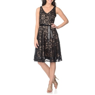 Tahari Arthur S. Levine Women's Lace Dress