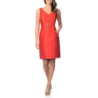 Tahari Arthur S. Levine Women's Pocket Dress