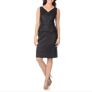 Tahari Arthur S. Levine Women's Peplum Sheath Dress