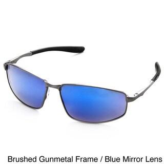 Hot Optix Men's Polarized Mirror Lens Sport Sunglasses