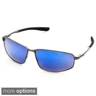 Hot Optix Men's Polarized Mirror Lens Sport Sunglasses