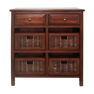 Brown Cabinet with Drawers
