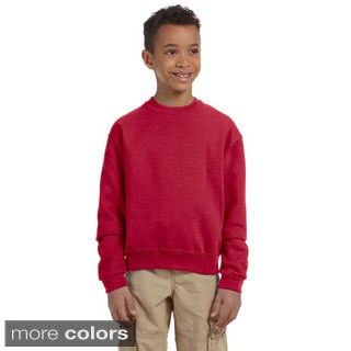 Youth 50/50 NuBlend Fleece Long Sleeve T-shirt