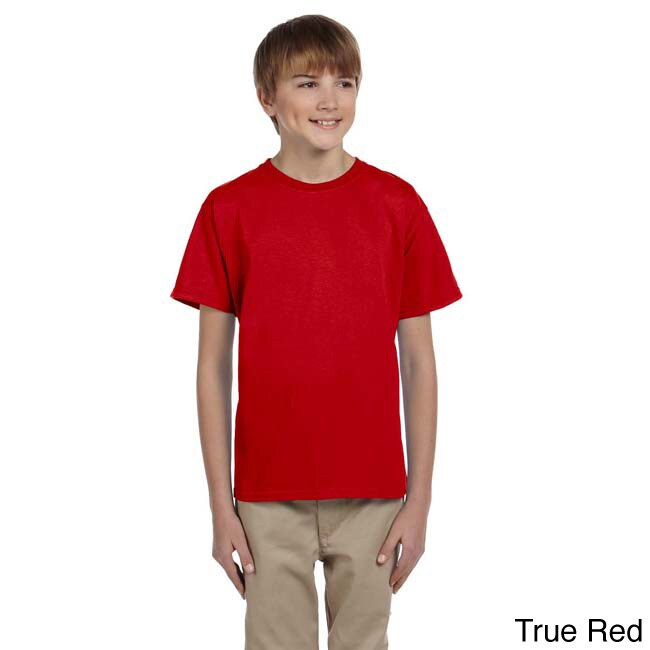 Fruit Of The Loom Fruit Of The Loom Youth Heavy Cotton Hd T shirt Red Size L (14 16)