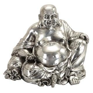 Polystone 8-inch Sitting Buddha