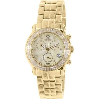 Swiss Precimax Women's SP13324 'Tribeca Elite' Goldtone Watch