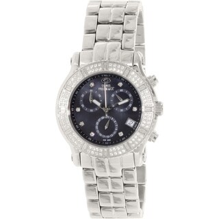Swiss Precimax Women's SP13325 'Tribeca Elite' Black Dial Stainless Steel Watch