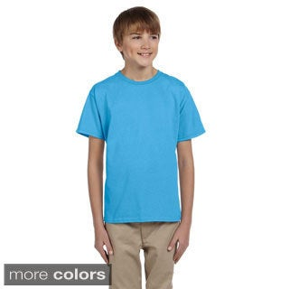 Fruit of the Loom Youth Boy's Heavy Cotton HD T-Shirt