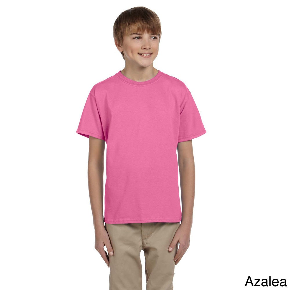 Fruit Of The Loom Fruit Of The Loom Youth Boys Heavy Cotton Hd T shirt Red Size L (14 16)
