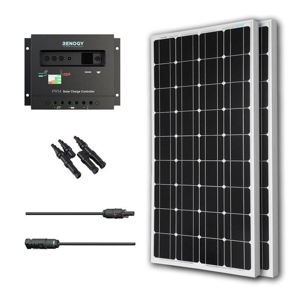 Renogy Solar Panel Bundle Mono 200w With 2 100w Panels