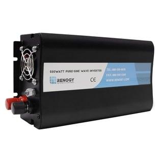 Renogy 12V Off Grid Power Inverter 500 Watts 5V USB Port and AC Outlet