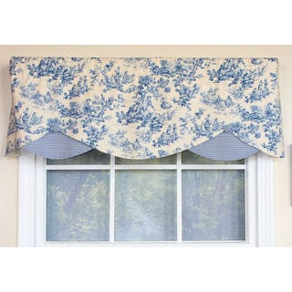 Country Fun Denim Petite Window Valance