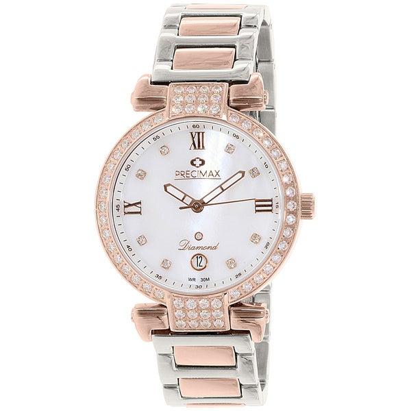 Precimax Women's PX13336 'Siren Diamond' Two-tone Stainless Steel Watch