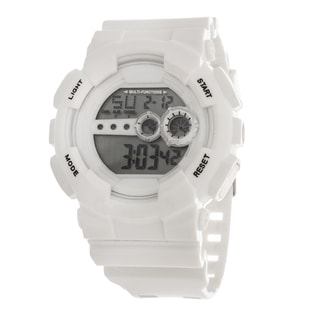 Xtreme Tween 'X Shock' Large Digital LED White Rubber Watch