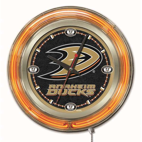 Holland Us Nhl Neon Logo Clocks Overstock Shopping
