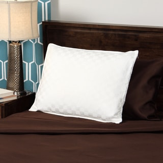 CozyClouds by DownLinens 750 Thread Count Silk Cotton White Goose Down Pillow