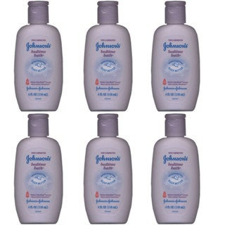 Johnson's 4-ounce Bedtime Bath (6 Pack)