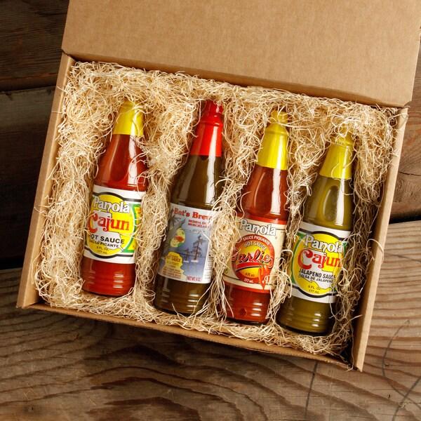 Taste of Louisiana Hot Sauce Box Set - Panola (Pack of 4)