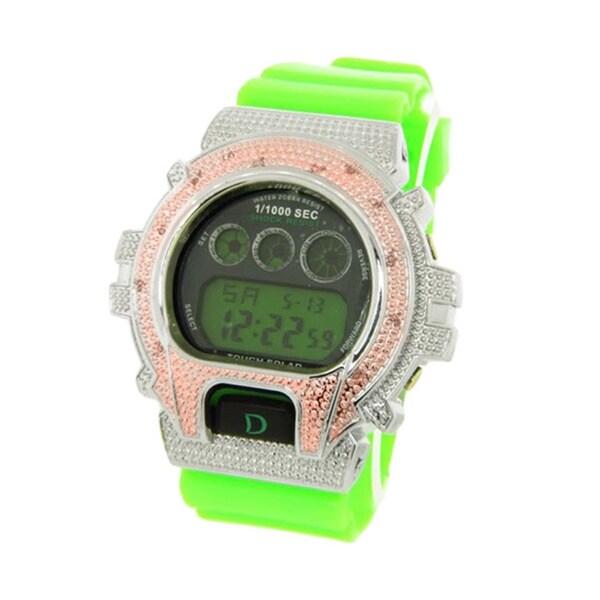 Men's DS217-G Bling Green Digital Watch