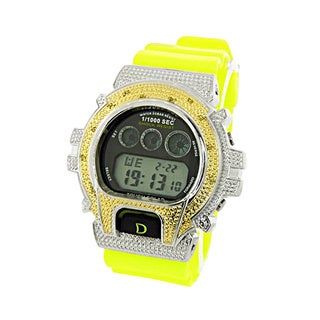 Men's DS217-Y Bling Yellow Digital Watch