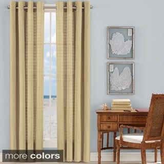 Tommy Bahama Malone Coast Grommet Top Curtain Panel Pair