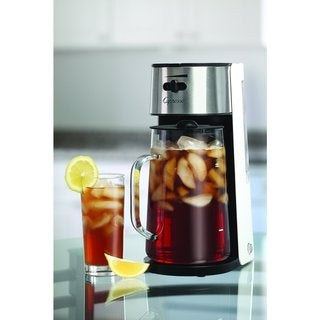 Capresso 624.02 Iced Tea Maker with 80-ounce Glass Carafe and Removable Water Tank