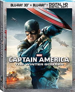 Captain America: The Winter Soldier 3D (Blu-ray Disc)