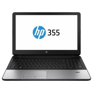 "HP 355 G2 15.6"" LED Notebook - AMD E-Series E1-6010 1.35 GHz - Silver"