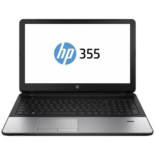 """HP 355 G2 15.6"""" LED Notebook - AMD A-Series A4-6210 1.80 GHz - Silver"""
