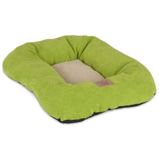 SnooZZy Lime Green Rectangle Bolster Pet Bed