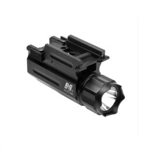 NcSTAR Weaver Mount Tactical LED Light Flashlight