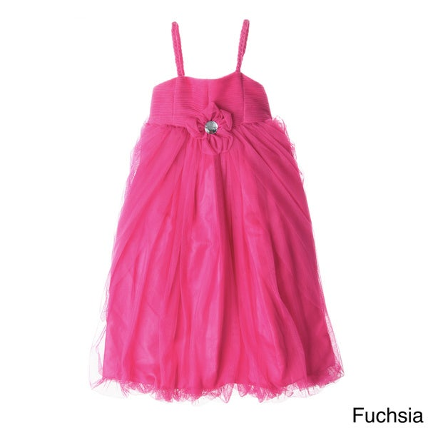 Sweetie Pie Girls Spaghetti Strap Tulle Dress