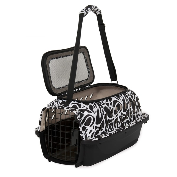Petmate Curvations Hybrid Pet Carrier