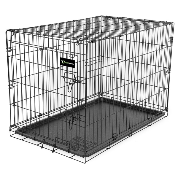Ruff Maxx Black Wire Pet Crate