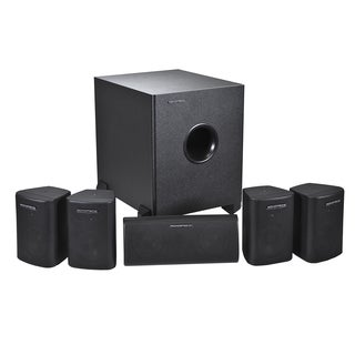Home Theater 5.1 Channel Satellite Speakers and Subwoofer