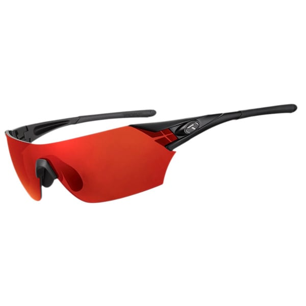 Tifosi Podium Matte Black Interchangeable Sunglasses
