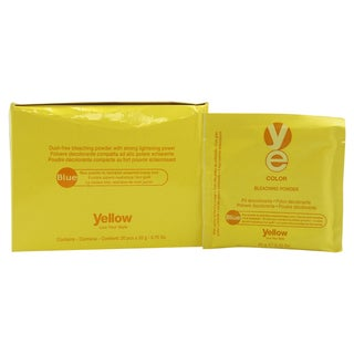 Alfaparf Yellow Color Blue 0.70-ounce Bleaching Powder (Pack of 20)