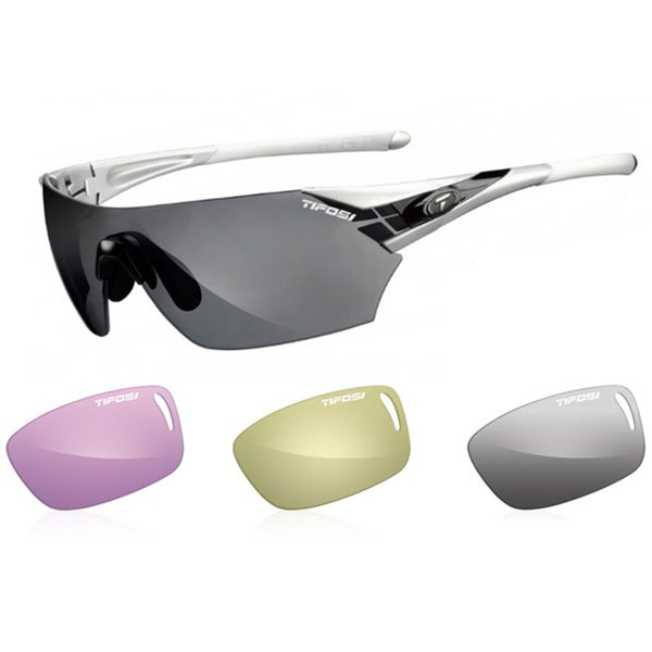 Tifosi Podium Metallic Silver All-Sport Interchangeable Sunglasses