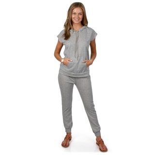 Hailey Jeans Co. Junior's Hooded French Terry Lounge Set