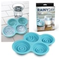Fred & Friends 4 Rainy Day Silicone Ice Cube Tray Mold Drinks