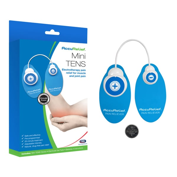 AccuRelief Mini TENS Electrotherapy Pain Relief Unit
