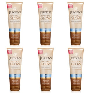 Jergens Natural Glow Firming 7.5-ounce Tanning Lotion (Pack of 6)