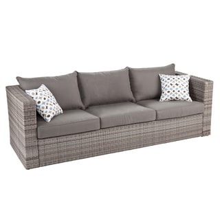 Upton Home Brixton Outdoor Wicker Sofa