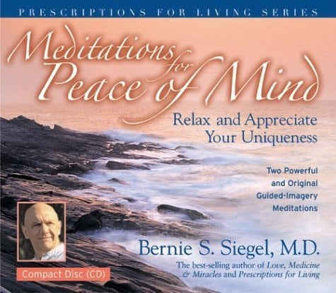 Meditations for Peace of Mind: Relax and Appreciate Your Uniqueness (CD-Audio)